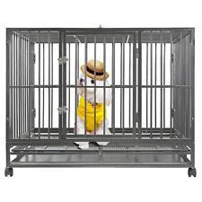 "BestPet New Hammigrid 48"" Heavy Duty Dog Pet Cat Bird Crate Cage Kennel HH"