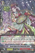CARDFIGHT VANGUARD: STEALTH ROGUE OF THE FLOWERED HAT FUJINO G-BT03/034EN R RARE