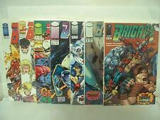 Brigade #0-3 1-3 Image Comics 1992-93 comic book lot