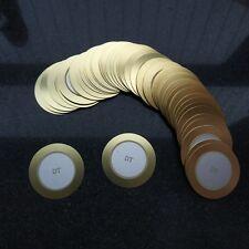 50PCS 35mm Piezo Disc2.8kHz for buzzer , pressure sensor , speaker ,DIY