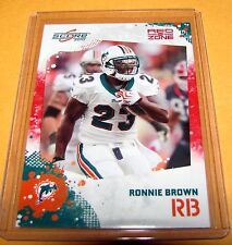2010 Score Football REDZONE Parallel - RONNIE BROWN #157 - Dolphins /100