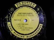 Hampton Hawes Quartet new Prestige10 Inch Japan limited edition reissue mint