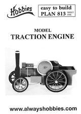 HOBBY piani per compiere un modello di trazione motore P813-fare una replica in legno giocattolo