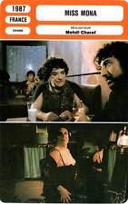 FICHE CINEMA : MISS MONA - Carmet,Smaïl,Delpy,Duc,Charef 1987
