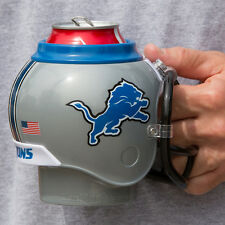 Detroit Lions All in One Helmet Can & Bottle Cooler, Mug and Desk Caddy