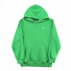 NIKE  Green Classic Pullover Hoodie Boys L