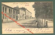Piemonte. TORTONA, Alessandria. Corso Umberto I. Cartolina viaggiata nel 1904.