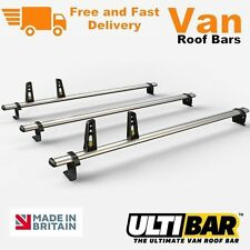 Ulti Bars 3 x Roof Bar Rack Ford Custom Van VG304-3