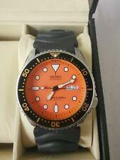 SEIKO SKX011J Orange 7S26 0020 Automatic Scuba Divers Original Japan