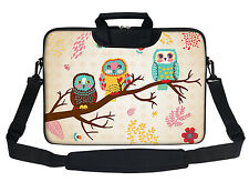 15 15.6 inch Neoprene Laptop Shoulder Briefcase Bag Carry Case Handbag 3080