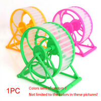 Home Workout Running Wheel Exercise Training Durable Random Color Hamster Cage