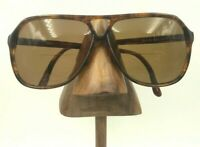 Vintage St.Mortiz Ted Demi Amber Aviator Eyeglasses Sunglasses FRAMES ONLY