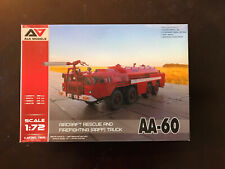 1/72 Aa-60 Aircraft Rescue And Firefighting Truck (A&A Models)