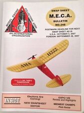MECA Bulletin Magazine Expo VIII No.248 October 5, 2007 041817nonrh
