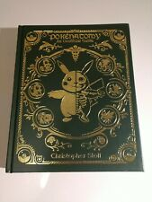Pokenatomy Unofficial Pokemon Anatomy Guide Book Leather Premium Hardback RARE
