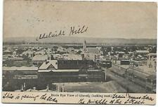 Birds Eye View of Glenelg (Looking East) 1900's Postcard Sold as per Scans