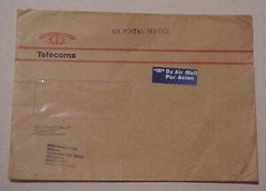 SINGAPORE  TELEGRAM COVER 1970's