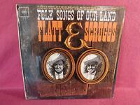 Lester Flatt & Earl Scruggs, Folk Songs Of Our Land, Columbia CL 1830, Bluegrass