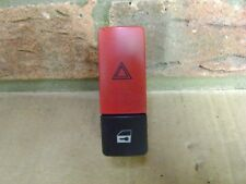 HAZARD LIGHT & CENTRAL LOCK SWITCH BUTTON - RANGE ROVER L322 - 4.4 V8 - 2002