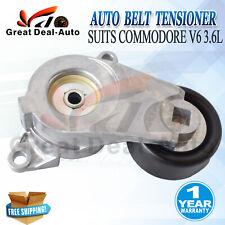 Engine Pulley + Drive Belt Auto Tensioner suits Holden Commodore V6 3.6L VZ VE