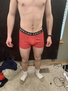 """NWT AMERICAN EAGLE OUTFITTERS MENS 6/"""" BANANAS FLEX TRUNK AEO BOXER BRIEFS"""