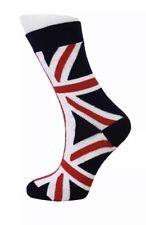 Union Jack British Flag Calf Women's Ladies Socks