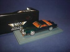 Lincoln MK5 Coupe Dark green 1978 NEO 43550 1:43