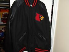 Louisville Cardinals Football or Basketball Team Issued Letterman's Jacket Choic