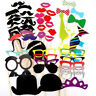 Playful 58X Photo Booth Prop DIY Masks Wedding Birthday Party for KidsYJ