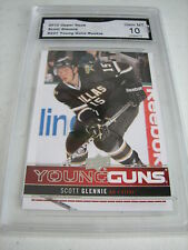 SCOTT GLENNIE STARS 2012-13 UPPER DECK YOUNG GUNS ROOKIE RC # 221 GRADED 10