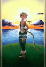 Final Fantasy 9 Ix Ff9 Ffix Doujinshi Dojinshi Comic Zidane x Kuja Mind Iv