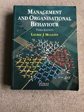 Management and Organisational Behaviour by Mullins, Laurie J. Paperback Book The