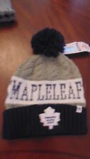 Toronto Maple Leafs 47 Brand Womens Knitted Hat Cap Tuque New NWT
