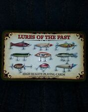Fishing Lures Of The Past High Quality Poker Playing Cards • 54 Lures Depicted