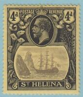 St. Helena 95 Mint Hinged OG * - No faults Extra Fine!