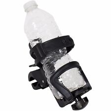 Adjustable Water Bottle Holder Motorcycle Cup Bicycle Drink Universal Fit Harley