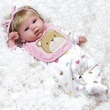 Paradise galleries lifelike realistic vinyle souple pondérée 48cm bébé reborn fille