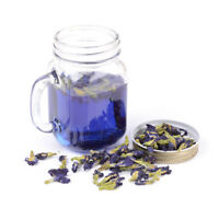 Pure Natural Dried Butterfly Pea Tea Blue Flowers Clitoria Ternatea FE
