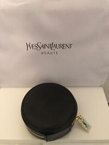 YSL Beaute Black Small Make up Bag - Gold Zip. BRAND NEW