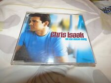 CHRIS ISAAK - LET ME DOWN EASY (RARE 2002 USA IMPORT MAXI CD SINGLE)
