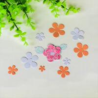 11Pcs Flower leaves Metal Cutting Die For DIY Scrapbooking Album Paper CardsBRIL