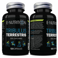 TRIBULUS TERRESTRIS CAPSULES NOT TABLETS | 95% SAPONINS | TESTOSTERONE BOOSTER
