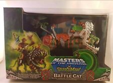 masters of the universe snakemen battle cat & he man