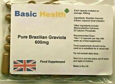 Pure Brazilian Graviola Extract x 120 600mg Capsules Hench Gear Nutrition