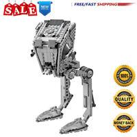 Building Blocks for Star Wars AT-ST Walker 75153 Kids Educational Toys Bricks