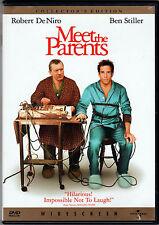 MEET THE PARTENTS Movie on a DVD with ROBERT De NIRO Ben Stiller ROMANTIC COMEDY