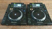 2x Pioneer CDJ-2000 MULTIPLAYER DJ SET / PAIR / INCL FLIGHTCASES