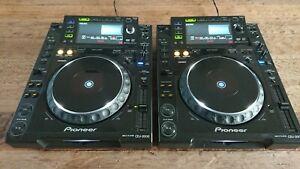 2x Pioneer CDJ-2000 MULTIPLAYER DJ SET / PAIR