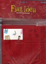 Fiat Idea 2004 UK Market Novelty Mailer Sales Brochure