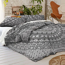 Indian Mandala Duvet Cover Hippie Queen Size Bedding Donna With Pillow Cover Set